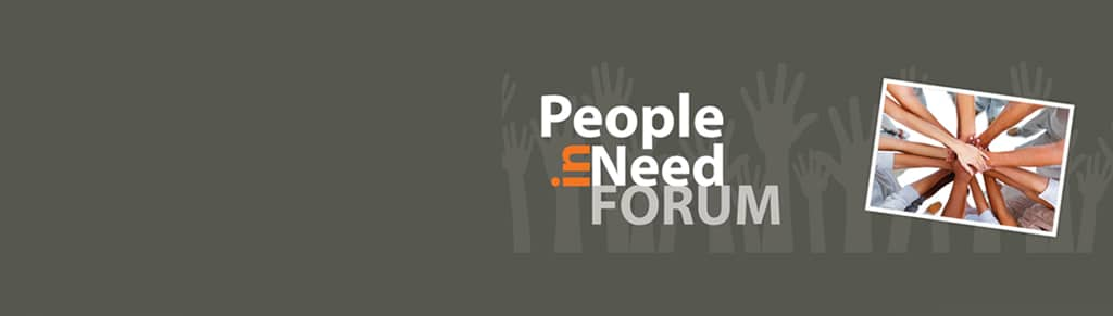 People in Need Forum